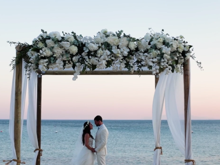 Wedding Videography in Mykonos | Lindsey & Adrian