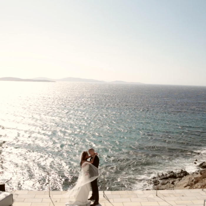 luxury wedding in Mykonos